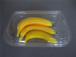 High quality rectangle food/fruit packaging boxes