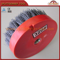 Round Stone Cleaning Brush Factory Supply