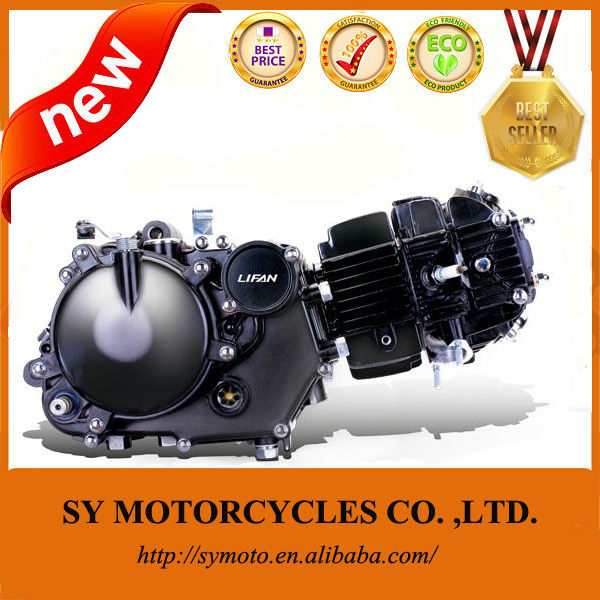 pit bike parts,kick-starting, manually operated clutch lifan150cc pit bike engine