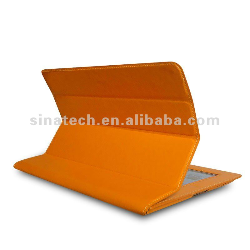 New arrival colour design for Ipad case, stand leather case for Ipad