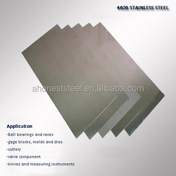 High Carbon W.-nr. 1.4112 ( DIN X90Cr18MoV ) Stainless Steel Sheets