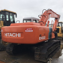 High quality ex200 japan used hitachi excavator for sale