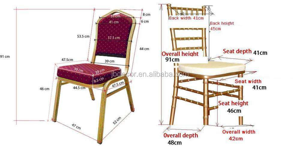 Standard Chair Size 1