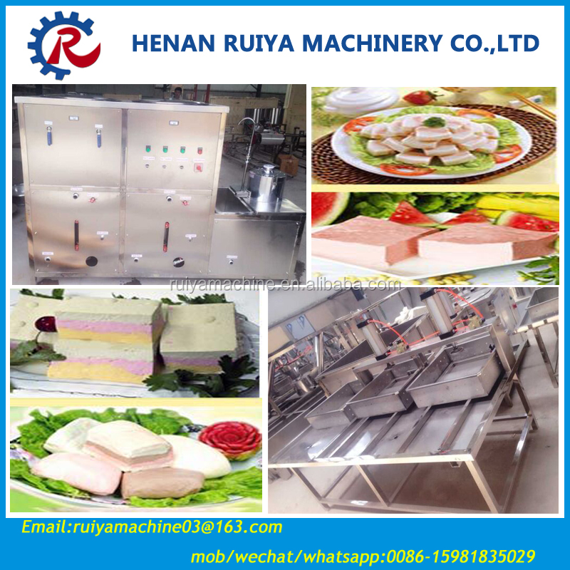 High Quality Soya Bean Curd Machine Maker/ Tofu Machine Maker/Soy Milk Curd 0086-15981835029