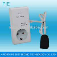 wireless water leak system/water leakage alarm with brass valve wireless sensors