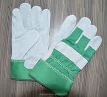 DEELY new design Heavy duty industrial leather work hand gloves