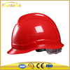 ABS Ratchet Hard hat safety Helmet Adjustable head protection for industrial