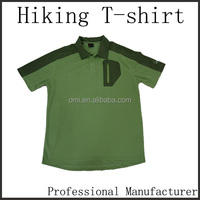 Trending hot products 2015 Manufacturers hiking t shirt with high quality