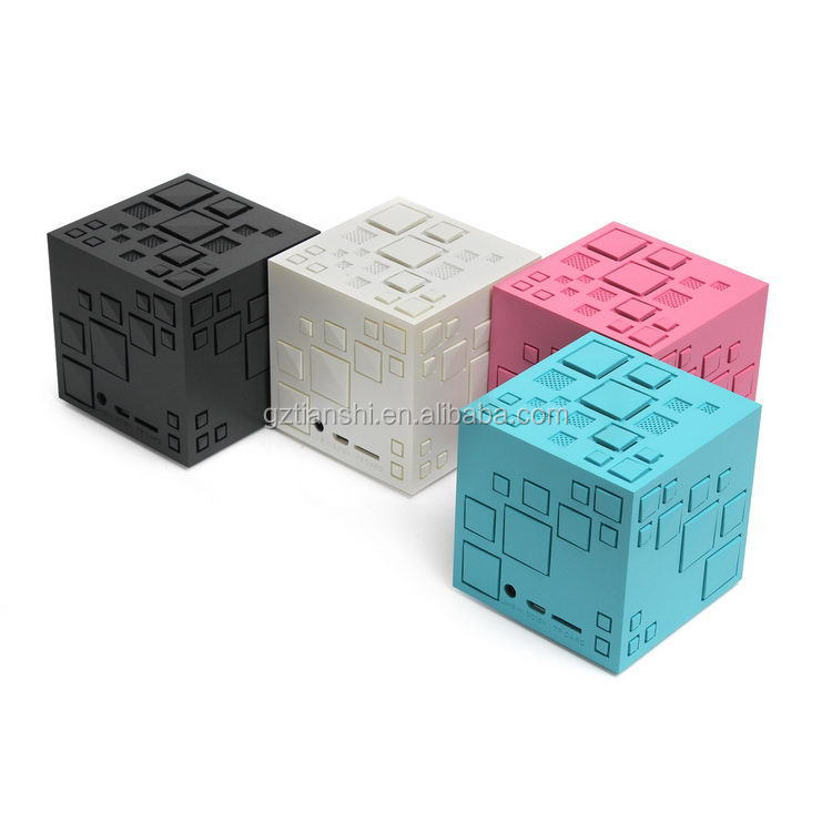 Mobile phone computer X3 Small Water cube Speaker professional stereo wireless mini cube bluetooth speaker