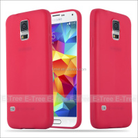 Soft Ultra Slim TPU Silicone Cellphone Case For Samsung Galaxy S5