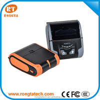 3 inch mobile printer, wifi/USB/Bluetooth for IOS android,2000 mAh rechargeable li-ion battery