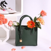 Customized Size Warmly Welcomed Characteristics Fashion Floral Handbag Ladies