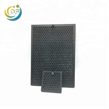 Honeycomb mesh activated carbon air filter sheet gas mask fiber smoke