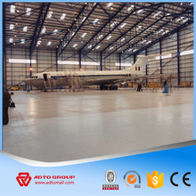 Wholesale Light Structural Steel Truss Grid Structure Modular Aircraft Hangar Industrial Warehouse Turnkey Project Big Discount