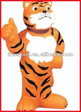 pu foam tiger toy,customize stress toy