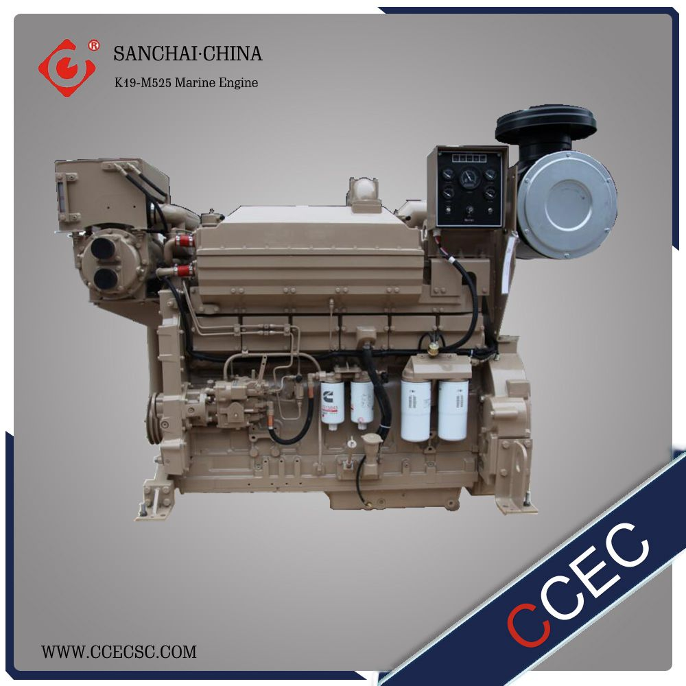 High Speed Marine Diesel Engine Water Cooled Inboard Boat Jet Engine