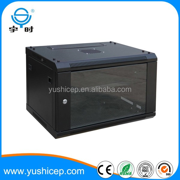 19 inch SPCC cold rolled steel 600mm width 550mm depth wall mounted network server rack enclosure