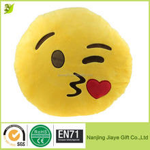 Different Shapes Of Plush Emoji Pillows