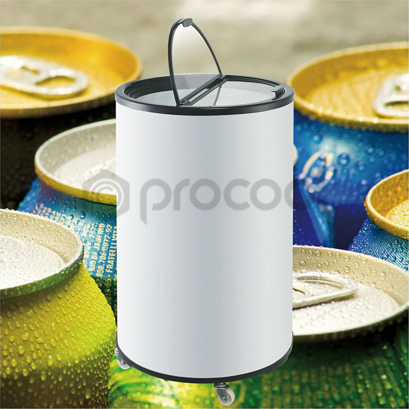 promotional 90L mini refrigerator can cooler for beverage