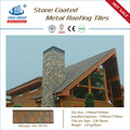 Water proof Stone coated metal roofing tile-model no JH04