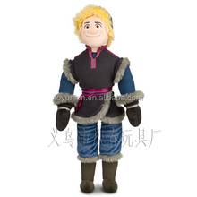 Factory direct sale personalized frozen dolls character image plush toy