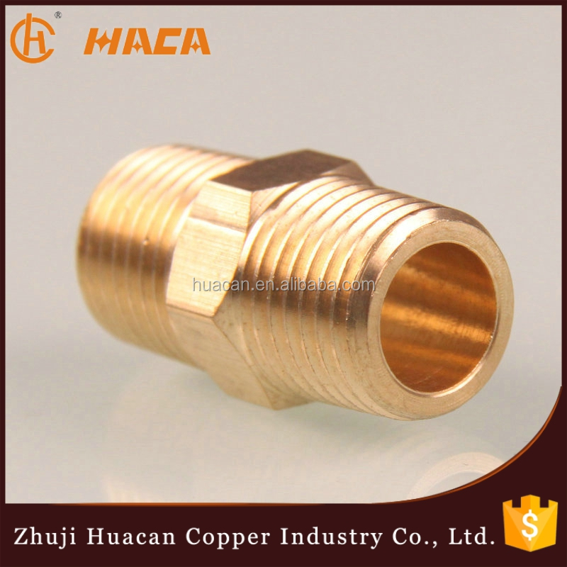 Good Quality Brass Close Nipple Coupling For Pipe Fitting