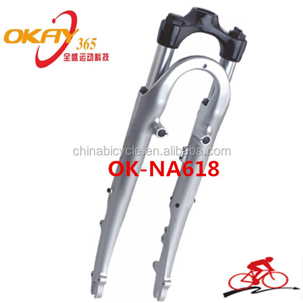 Beach cruiser bicycle suspension fork air suspension fork bicycle