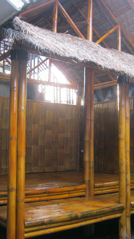 Bamboo Houses with Knock Down System