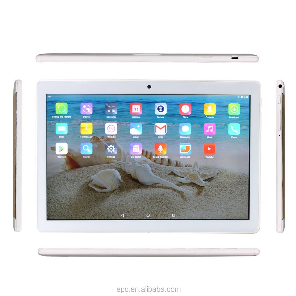 wholesale tablet 10.1inch android 6.0 1920 x 1200 quad core 4G tablet