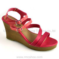 RMC ankle high platform no heel shoes