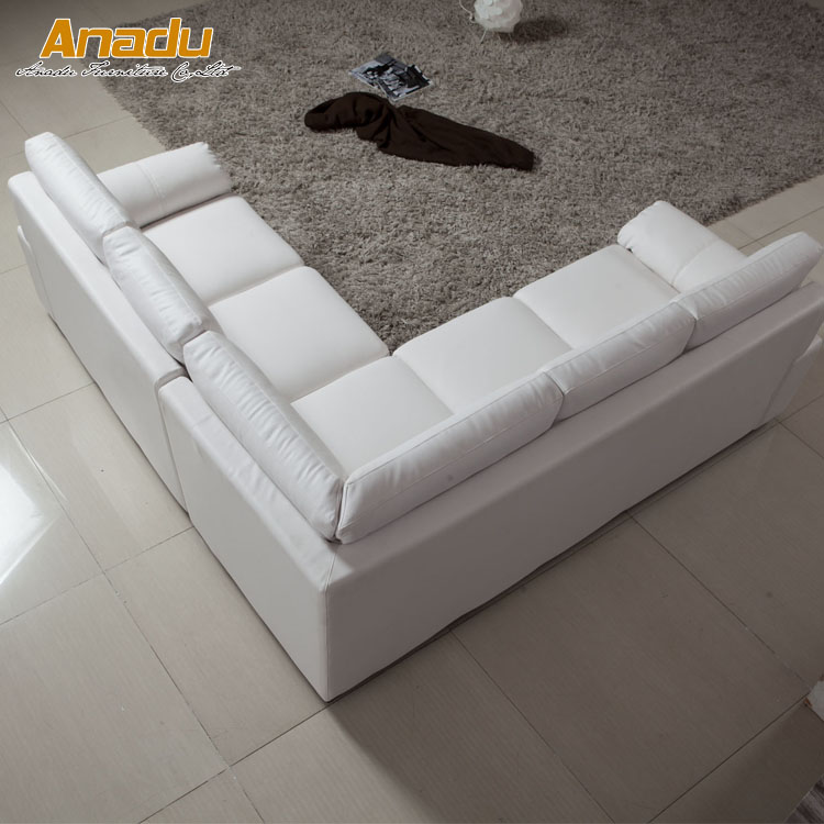 small size uk style modern pu leather sofa AL608B