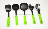 5pcs Nylon Green Kitchenware For Wholesale