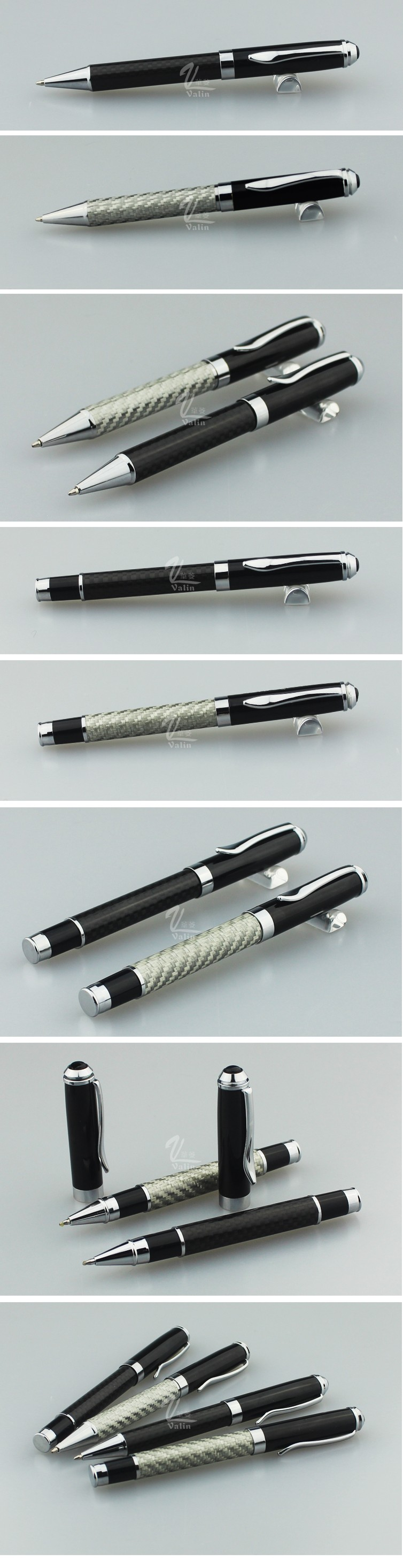 2016 HOT sale carbon fiber pen & executive pen set
