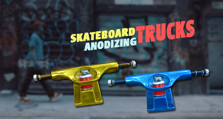 Hollow Kingpins And Axle Custom Skateboard Truck
