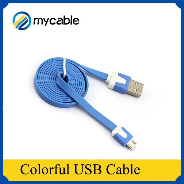 High quality and Speed Colorful Noodle usb usb 2.0 to 3.0