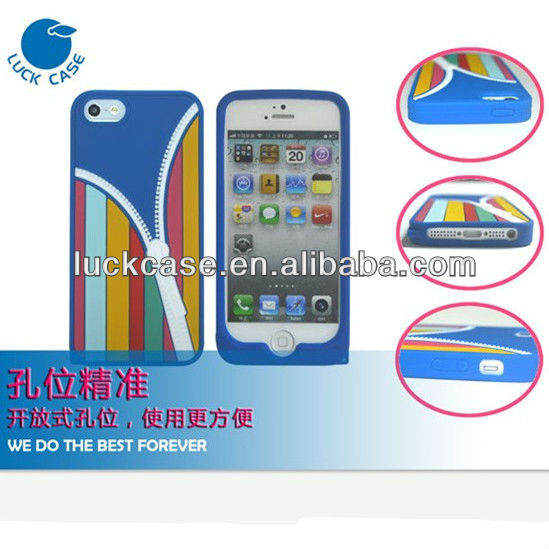 Best price original cool design silicone case for iphone 5