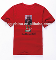 Custom cheap election t-shirt printed campaign t-shirt for men