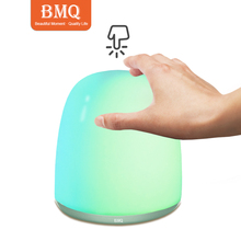Factory price touch table lamp USB rechargeable led night light for kids