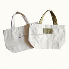 top quality cotton canvas school bag