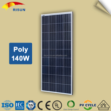 Easy to Install Chinese Cheap Poly 140w Solar Panel For Sale