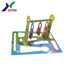 Hot sale cartoon playground puzzles 3d pp puzzle for kids