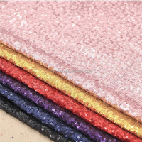 High Quality Cheap Sequin Fabric Round
