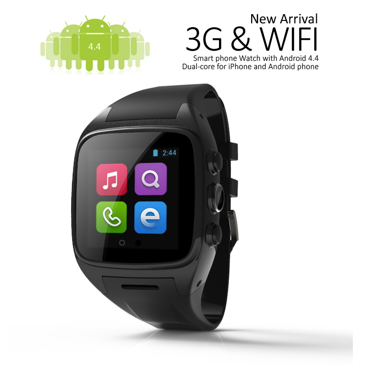 Android smart watch 2015 with touch screen, 3g gps android 4.4 wifi smart watch, hand watch mobile phone price