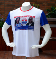 Hot Sales economic unisex election campaign printing 100% cotton t-shirt