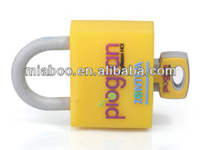 Custom lock usb flash drive, combination lock usb flash drive, rubber usb door lock