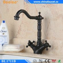 Beelee Oil Rubbed Bronze Kitchen Faucet Single Level Kitchen Water Sink Mixer Tap