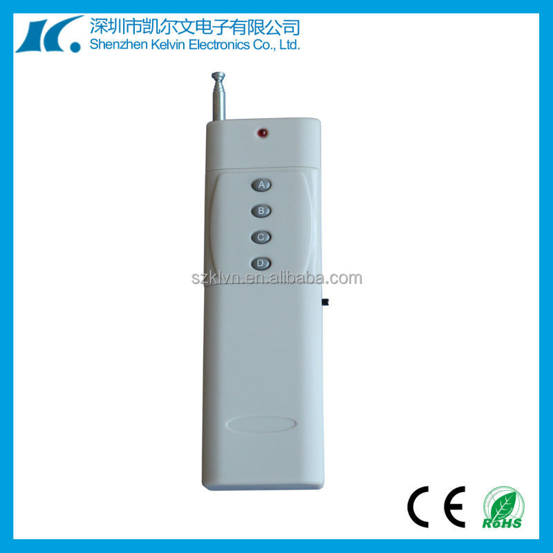 4-Channel rf 433mhz Fixed code by slodering radio remote control KL3000-4