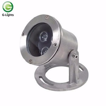 12v 3w ip68 LED underwater light for swimming pool