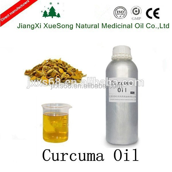 100% Pure and Natural Curcuma oil as good edible essence in hot sale