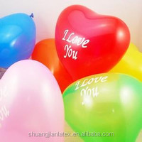 Advertising balloon heart Shape Latex Balloon
